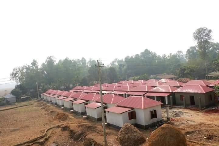 মোংলায় গৃহহীনদের জন্য প্রধানমন্ত্রীর উপহার ৫০টি গৃহ নির্মাণ সম্পন্ন
