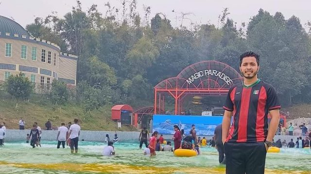 কুবি ছাত্রলীগ আয়োজিত মুজিববর্ষ ক্রিকেট টুর্নামেন্টের ১ম সেঞ্চুরিয়ান তানজিল