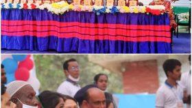 """চিরিরবন্দরে সেচ্ছাসেবী সংগঠন """"পাশে দাঁড়াও"""" এর ১ম প্রতিষ্ঠা বার্ষিকী উৎযাপন"""