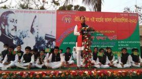 লালমনিরহাটের হাতীবান্ধায় ৭ই মার্চের ভাষণের প্রতিযোগিতা অনুষ্ঠিত