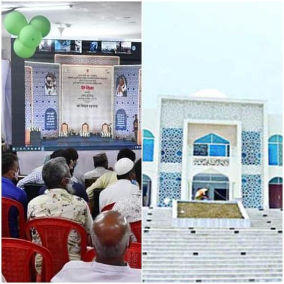দিনাজপুর বিরলসহ সারা দেশে ৫০টি মডেল মসজিদ উদ্বোধন করেন প্রধানমন্ত্রী