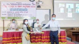 কুমিল্লা বিশ্ববিদ্যালয় কর্মকর্তা পরিষদের দায়িত্ব হস্তান্তর অনুষ্ঠিত হয়েছে