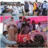 আজ মংলায় বন উপমন্ত্রী বেগম হাবিবুন নাহার ত্রাণ সামগ্রী বিতরণ করেন