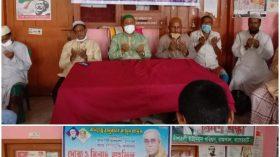 খুলনা সিটি মেয়র তালুকদার খালেক এর রোগমুক্তি কামনায় দোয়া ও মিলাদ অনুষ্ঠিত