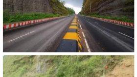 চট্টগ্রামের ফৌজদারহাট বায়োজিদ লিংক রোড়ের দু'পাশের পাহাড় ধ্বসে পড়েছে