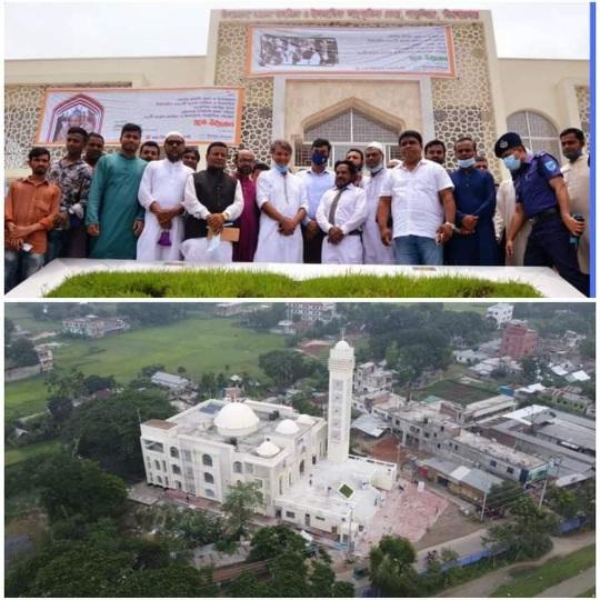 পাকুন্দিয়া মডেল মসজিদ ও ইসলামিক সাংস্কৃতিক কেন্দ্রেরও শুভ উদ্বোধন হয়েছে
